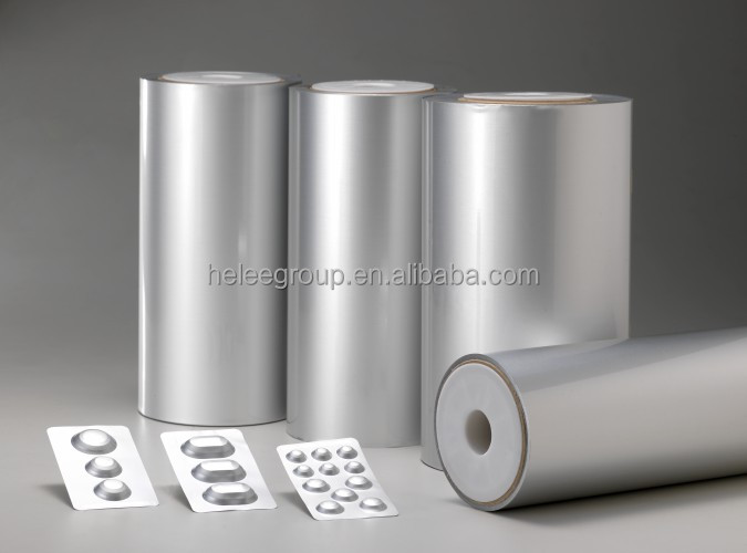 Alu alu cold form film for blister pack sealing with lidding foil,sichuan manufacturer