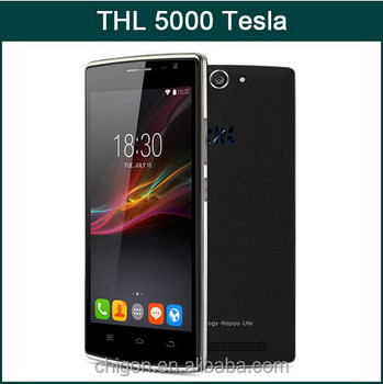 Low price Chinese brand cell phone THL 5000 Tesla, 100% original & brand new