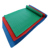 environmental rubber flooring round button color rubber flooring  with sealed plastic film packed