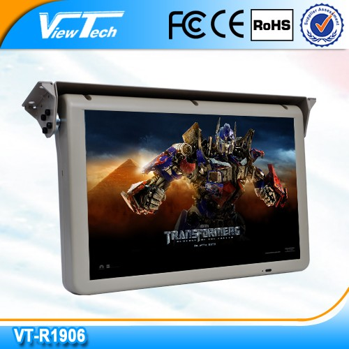 19 Inch CRT Monitor Automatic Flip Down Monitor/19 Inch Tft-lcd Monitor