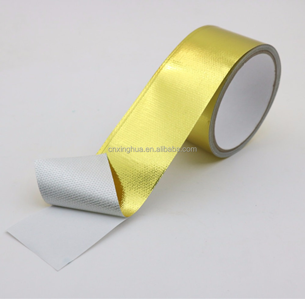 Reflect-A-Gold 2(IN)x 16 (FT) Adhesive Backed Heat Barrier Tape Roll