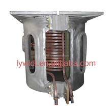 Intermediate frequency induction copper steel scrap induction melting furnace