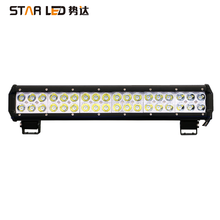 brightest led light bar cheap waterproof off road in car truck IP68 17inch 108w rc car 4x4 off road car