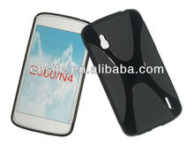 X Shape Rubber Cover For LG Nexus 4 E960