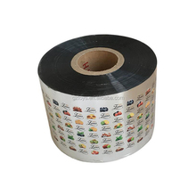Hot sale high quality aluminum foil food packaging plastic roll film for chocolate/fruit/snack food