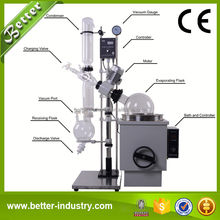 China Supplier Lab 20L Rotary Evaporator with Vacuum Pump and Recyclable Chiller
