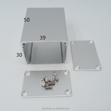 Made in China aluminum extrusion enclosure data junction box Guangdong supplier 39*30-50 custom Aluminum case