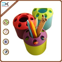 PP plastic material fancy design pen holder