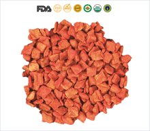 Factory Supply Dehydrated Puffed Carrot