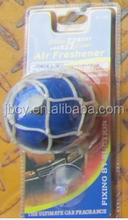 blue soccer car air freshener