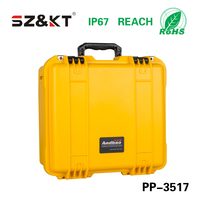 Hard PP plastic military case