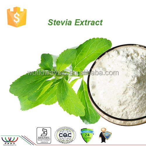 free sample for trial HACCP KOSHER FDA supplier pure white sweetner 97% Reb. A stevia rebaudiana extract