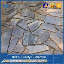 Factory supply high quality Natural outdoor black slate rock outdoor