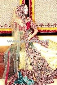 Pakistani Wedding and Bridal Dresses - Sharara, Gharara, Lehnga, Hurti, Shalwar Kameez