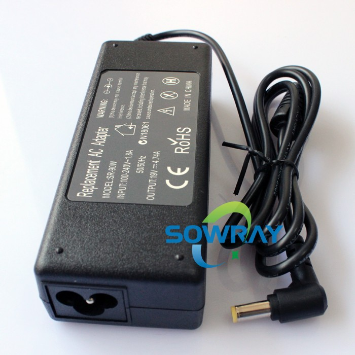 China Wholesale Manufacturer Laptop Adapter 19V 4 74A 90W For Acer Passed ROHS/CE/FCC