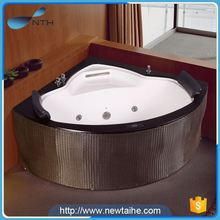 NTH new issue portable suite acrylic ceramic mini bathtub with water spout