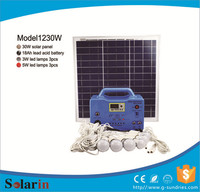 Moderate cost 30w solar system panel