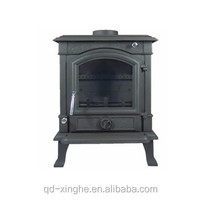 Custom made in china shantong craft stove fireplace insert antique cast iron fireplace stove