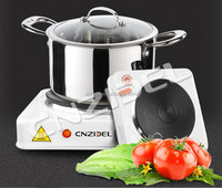 cnzidel 1500w electric cast iron heating plate stove