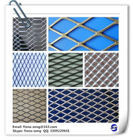 Factory direct steel sheet heavy duty galvanized stretch protecting metal screen wire mesh, expanded metal wire mesh