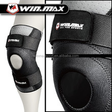 Winmax Leg Sleeve Support Brace Knee Pads Kneepad Basketball Sport Compression Calf Stretch Brace Thigh Skin Protector,BLACK