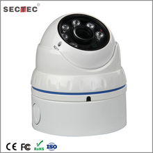 Vandalproof IR 2.8-12mm HD 3MP Lens ip cctv security camera With deep base