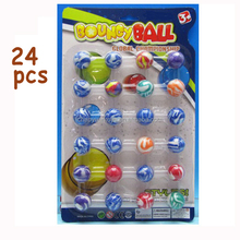 Kids toy 27mm mini Rubber bouncing ball SP71812015-6A-5