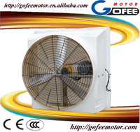 high quality FRP 36 inches industrial wall mounted exhaust fan