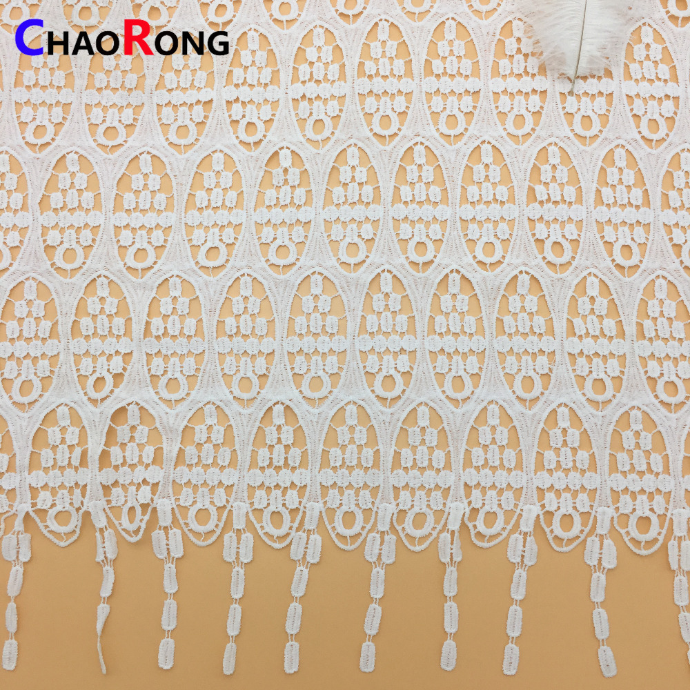 CRFPY1091 fashion milk poly embroidery lace designs machine washable for women dress