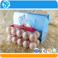 take away small plastic food quail egg containers with lids