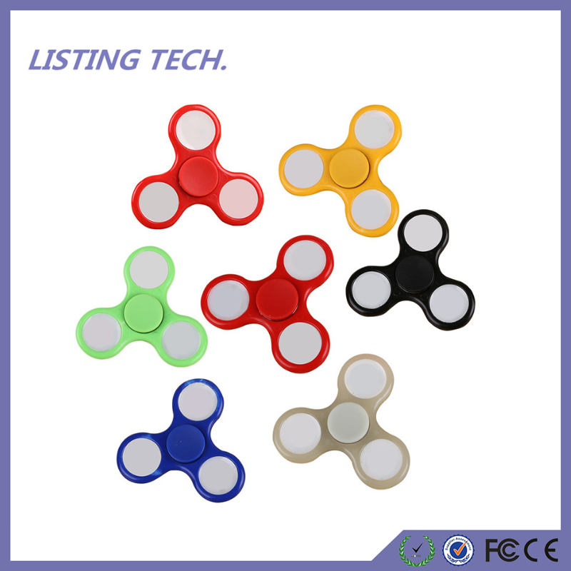 High Quality Fidget Toys 7 Lights Modes LED EDC Hand Fidget Spinners with Switch