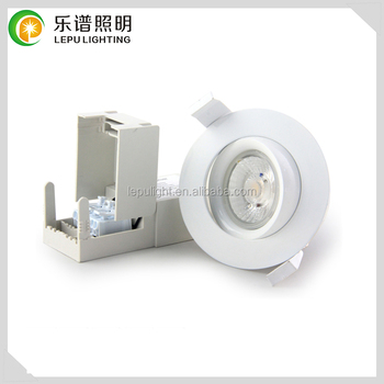 Lepu Patent design new recessed cob led lampen dimmable adjustable isolate downlight actec driver 9w