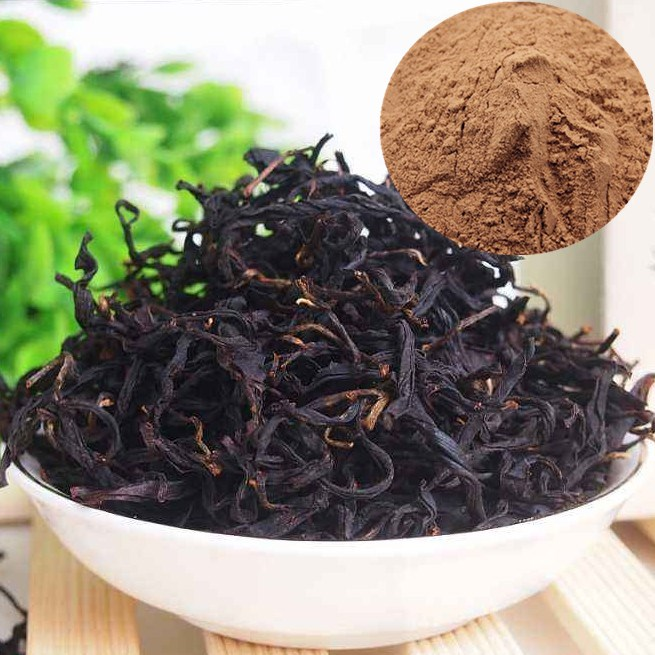 Top quality 30% tea polyphenols Black Tea Leaves Extract