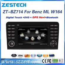 ZESTECH car gps player for benz ml w164 with car DVD player USB SD AUX Radio fm MP4 player new car