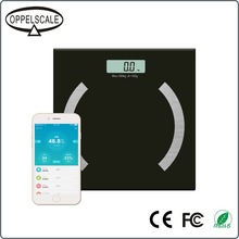 Digital Bluetooth Body Fat Smart Scale with App for iOS and Android Mobile Devices