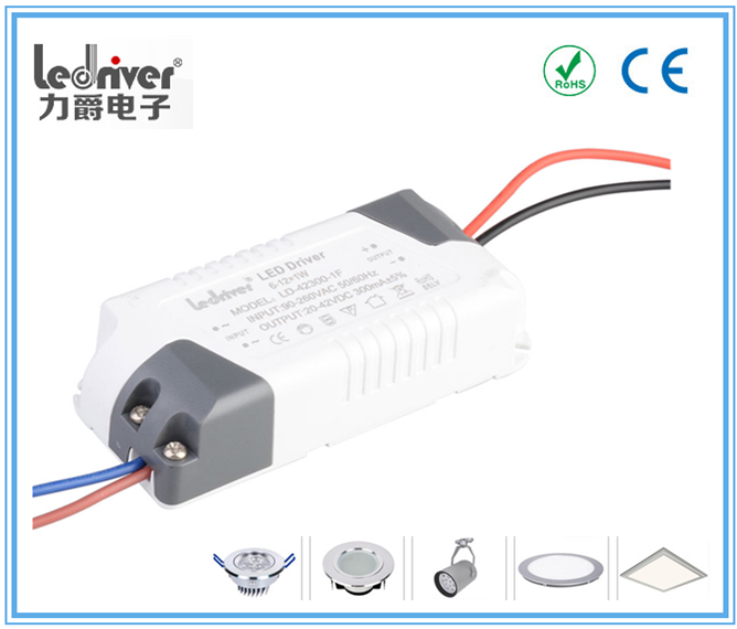 Dimmable Constant Current Led Driver 4w 7w 12v 24v Led