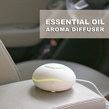 USB Waterless Aromatherapy Essential Oil Diffuser For Car