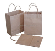 New Product Customized Biodegradable Bag Plain Kraft Paper Bags