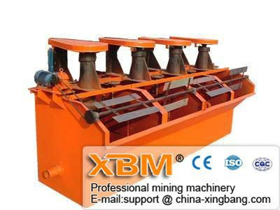 South Africa Buyers Hot Flotation Machine for Zinc/ Chrome/ Nickel ore from China Suppliers