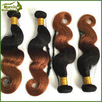 whosale Ombre Virgin Body Wave Ombre 1b/#33 Human Hair