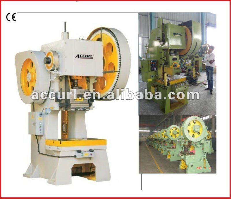 J21-150 C-frame Inclinable Power Press/ 150 Ton Mechanical Stamping ...