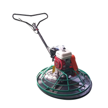 Superior concrete finishing power trowel