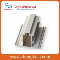 Aluminium side-hung window frame profiles aluminum extrusion profiles for picture windows