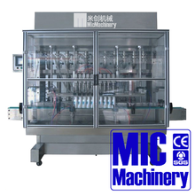 Micmachinery linear type mustard oil filling machine automatic liquid filling machine bottle filling system