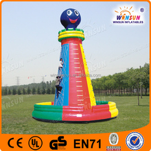 2015 inflatable water climbing wall for team building