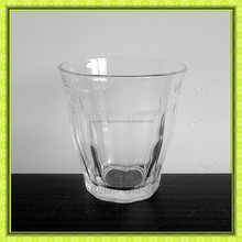 Old fashioned 8oz drinking glass cup glassware