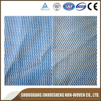 hot water fashinal dissolving embroidery backing paper embossed spunlace nonwoven fabric