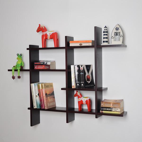 b cherregal display regale aus holz wandregal design. Black Bedroom Furniture Sets. Home Design Ideas