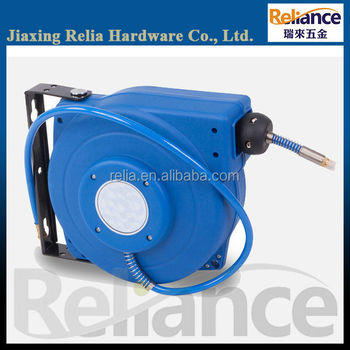 20m retractable garden air hose reel with adjustable mounting - Retractable Garden Hose Reel