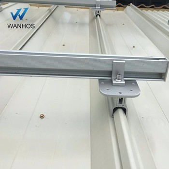 Solar Panel Rack Stainless Steel Standing Seam Roof Hook